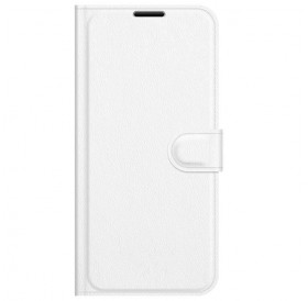 iPhone 13 læder cover pung hvid flipcover