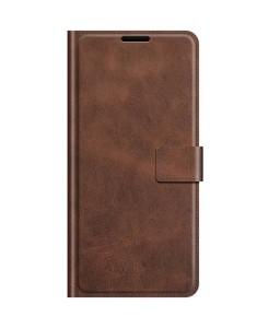 iPhone 13 mini læder cover pung mocca flipcover