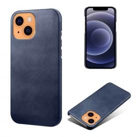 iPhone 13 læder cover back - Blå