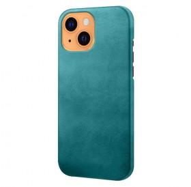 iPhone 13 læder cover back - Grøn