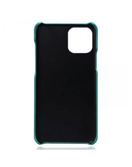 Iphone 13 læder cover grøn