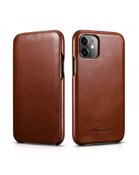 iPhone 11 ægte læder cover