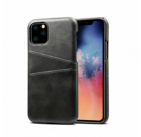 iPhone 11 pro læder cover i sort med kort holder