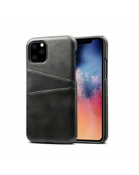 iphone 11 læder hard back cover