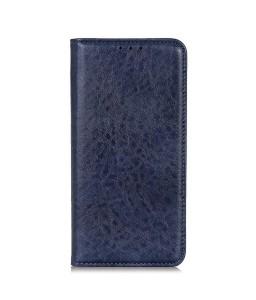 iPhone 11 læder cover pung blå flipcover