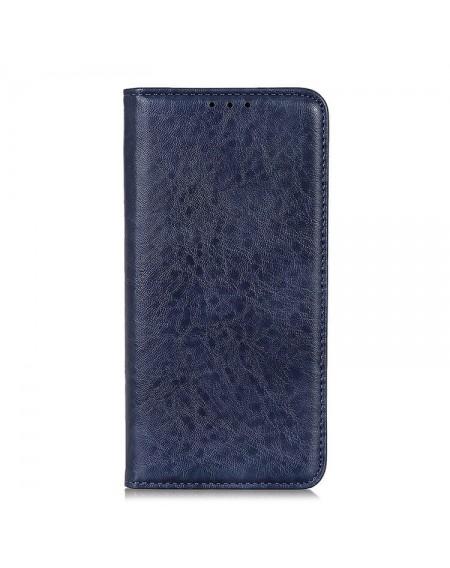 læder flipcover iPhone 11 blå