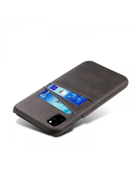 iphone 11 læder hard back cover