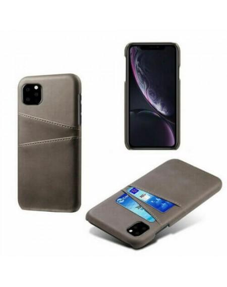 iphone 11 hard back cover grå