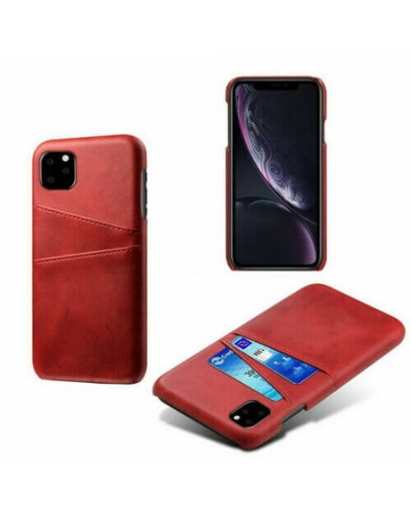 iphone 11 leather hard back wallet