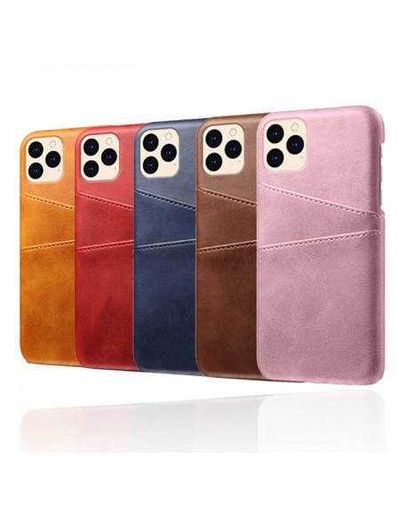 iphone 12 læder hard back cover