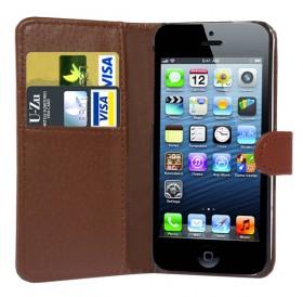 iPhone 6 Læder etui Brun incl. Stylus og skærmbeskytter