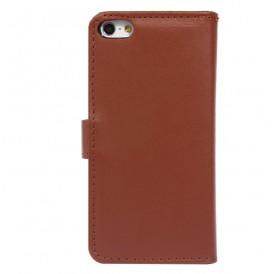 iPhone 5 læder etui brun incl. stylus og skærmbeskytter