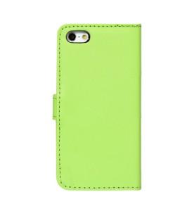 iPhone 6 Læder etui Grøn incl. Stylus og skærmbeskytter
