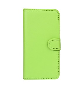 iPhone 5 læder etui grøn incl. stylus og skærmbeskytter