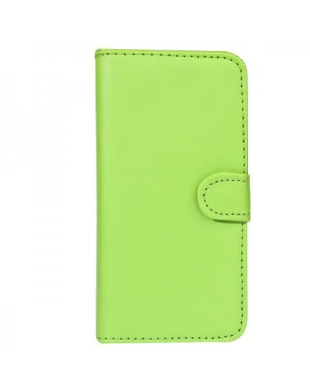 iPhone 5 læder cover grøn