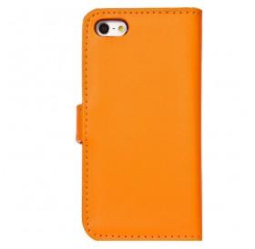 iPhone 6 læder etui orange incl. stylus og skærmbeskytter