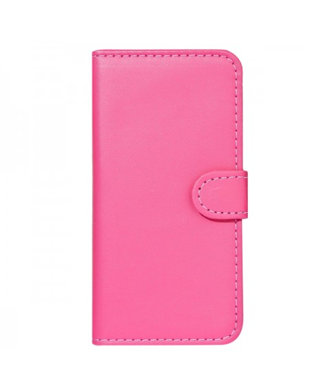 Pink læder pung iphone 6