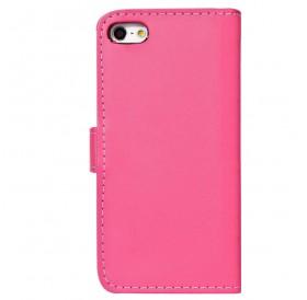 iPhone 6 læder etui pink incl. stylus og skærmbeskytter