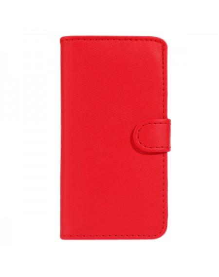 Rød læder pung iphone 6