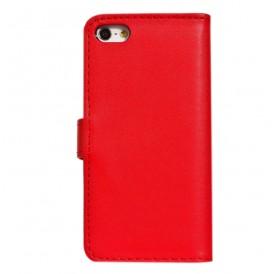 iPhone 6 læder etui rød incl. stylus og skærmbeskytter