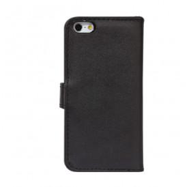 iPhone SE læder etui i sort incl. stylus og skærmbeskytter
