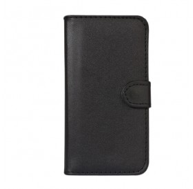 iPhone 7 læder etui sort incl. stylus og skærmbeskytter