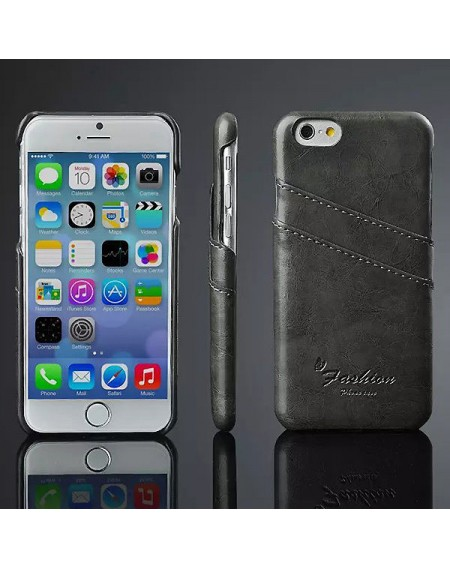 iphone 6 læder hard back cover