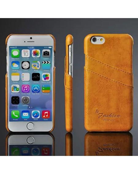 iphone 7 læder cover med kort holder