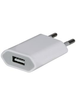 iPhone USB Adapter Oplader 220V AC | Hvid